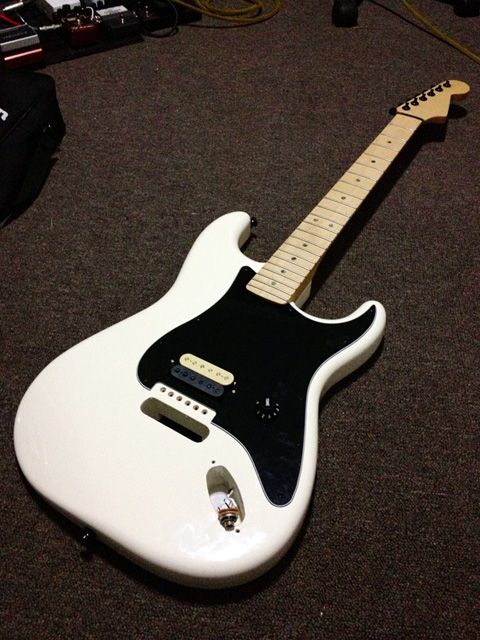 strat build looking almost done