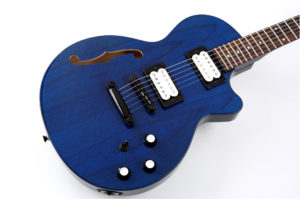 Help kickstart Moniker Guitars new semi-hollow body guitars.