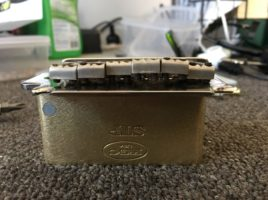 Killer Guitar Components brass block for Squier 2 point tremolo